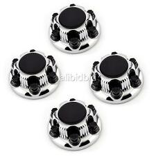 "Chrome  Wheel Center Hub Caps Nut Covers For CHEVY GMC  6 Lug 16"" & 17"" SET OF 4"