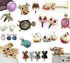 Cute Universal Dust Plug Cap Mobile Phone Tablet Charm Case Cover Accessories