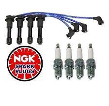 Mazda Miata Spark Plug and Spar Plug Wire Set NGK BKR5EGP ZE21 Fast Shipping