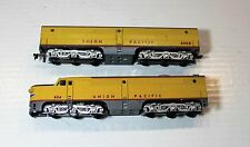 Athearn HO Scale Union Pacific UP PA1 & PB1 Diesel Locomotive Dummy Engines