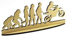Motocross Motorbike DADDY, FATHERS DAY GIFT MDF plaque Craft Grandad Uncle