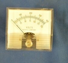 Simpson Voltmeter Volt Panel Meter Gauge 0-150 0-400 Model 407-56