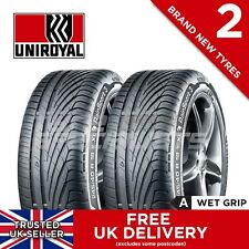 """2x NEW 215 40 17 UNIROYAL RAINSPORT 3 215/40R17 87Y (2 TYRES) """"A"""" WET GRIP TYRE"""