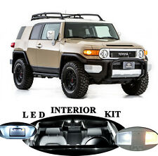 LED Package - Interior + License Plate for Toyota FJ Cruiser  ( 8 pieces)
