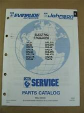 1991 OMC JOHNSON EVINRUDE ELECTRIC OUTBOARD TROLLING MOTOR PARTS CATALOG 434228