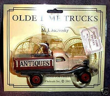 ANTIQUE TRUCK OLD TIME ANTIQUE REPLICA TRUCK COLLECTIBLE by M J McNosky NEW!!