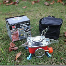 New Foldable Camping Stoves Portable Picnic Cooking Burner Outdoor Gas Stoves