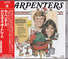 Free Shipping CARPENTERS CHRISTMAS PORTRAIT CD JAPAN OBI Out Of Print