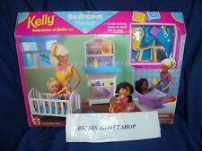 Kelly Baby Sister of Barbie Doll Bedroom Playset 1998