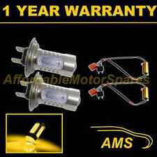 2X H7 YELLOW CREE LED FRONT FOG SPOT LAMP LIGHT BULBS HIGH POWER XENON FF501401