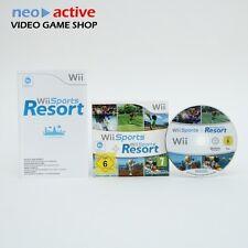 Nintendo Wii Sports + Sports Resort | 15 Spiele Game Sammlung Anleitung & OVP #G