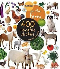 On The Farm Animals Sticker Book with 400 Reusable Full-Color Stickers