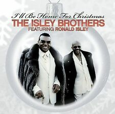"THE ISLEY BROS., CD ""I'LL BE HOME FOR CHRISTMAS"" NEW SEALED"