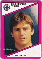 1988 SCANLENS RUGBY LEAGUE #105: CHRIS MORTIMER-PENRITH PANTHERS/BULLDOGS/TEST B