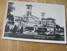 OSBOURNE HOUSE REAL PHOTOGRAPH  POSTCARD ISLE OF WIGHT G DEAN &CO 14 X 9 CMS