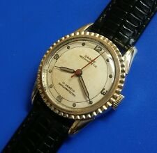 Exquisite 1960s Vintage Mans ORANO SWISS MADE , Stunning Silver Dial!