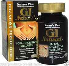 NEW NATURE'S PLUS GI NATURAL TOTAL DIGESTIVE WELLNESS DIETARY ENERGY SUPPLEMENTS