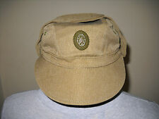Hat afghanka afganka cap officer soviet army military uniform ussr