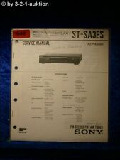 Sony Service Manual TA SA3ES Amplifier  (#0648)