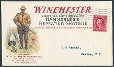WINCHESTER LT WEIGHT MODEL 1912 HAMMERLESS REPEATING SHOTGUN ADVTG COVER HV4738
