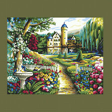 Home Garden DIY Paint By Number Kits On Canvas Digital Oil Painting Home Decor