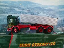 1/50 CORGI Eddie  stobart ltd  # 21601 AEC Ergomatic 6 wheel tipper