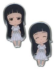 Sword Art Online Yui Happy and Angry 2 Pin Set Licensed Anime Manga NEW