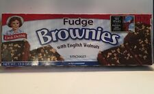 3X Little Debbie Fudge Brownies With English Walnuts