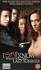 I Still Know What You Did Last Summer [VHS], Good VHS, Jennifer Love Hewitt, Fre
