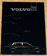 1982 VOLVO 760 GLE Prestige Sales Brochure