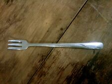 Vintage Mini Cheese Fork 3 Prong Stainless Steel by Oneida Ltd.