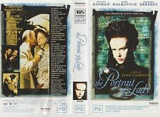Vhs * The Portrait of a Lady * 1996 Polygram Release - Adult Sexy Romantic Drama