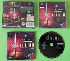 EXCALIBUR - PlayStation 1 PS1 Sword Legendary Play Station Gioco Game