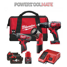 Milwaukee M18SET2J-423B 12v/18V Percussion Drill and Driver Powerpack