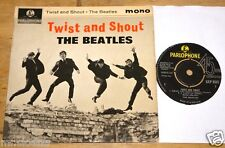 GEORGE MARTIN SIGNED TWIST SHOUT UK PARLOPHONE EP UACC REGISTERED DEALER BEATLES