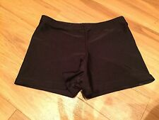 'JENETEX' BLACK JAZZ / DANCE HOT PANTS- SIZE 3A