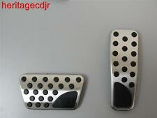2009-13 Dodge Charger Challenger 300 Aluminum Pedal Covers by Mopar(82211154AB)