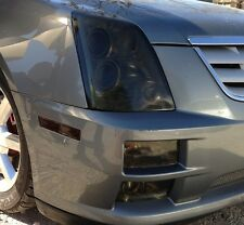 05-11 CADILLAC STS STS-V SMOKE HEAD LIGHT PRECUT TINT COVER SMOKED OVERLAYS