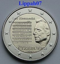 Luxemburg speciale 2 euro 2013 Nationaal Volkslied UNC