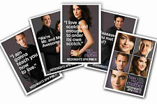 HOW I MET YOUR MOTHER - SET OF 5 - A4 POSTER PRINTS # 1
