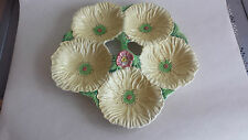 Rare Carlton Ware large yellow poppy 5 dish/compartment serving plate