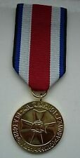 POLISH POLAND MEDAL FOR MERIT IN FIRE PROTECTION 1st CLASS 1984 year