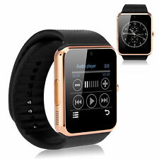 Gold NFC Bluetooth Smart Watch W Camera for Android Samsung S5 S6 S7 Note 5 4 3