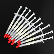 50pcs Lot Silver Syringe Led IC VGA CPU XBOX360 Heaksink Compounds Thermal Paste