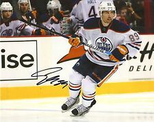 SAM GAGNER 'EDMONTON OILERS' SIGNED 8X10 PICTURE *COA