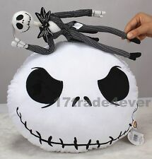 The Nightmare Before Christmas Jack Skellington Plush Doll and Stuffed Pillow