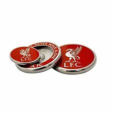 Liverpool Football Club Crest Golf Ball Marker Duo con GRATIS UK P & P