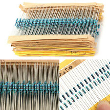 3120pcs 156 Values 1 ohm - 10M ohm 1/4W 1% Metal Film Resistors Assortment Kit