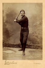 Deacon McGuire Philadelphia Quakers Vintage Photograph A++ Reprint Cabinet Card