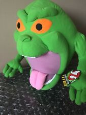 "Large Ghostbusters Slimer Plush Styrofoam Bead Stuffed Doll 25"" Toy Factory NWT"